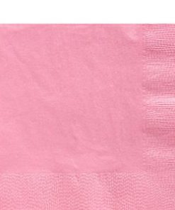 Baby Pink Party Paper Luncheon Napkins