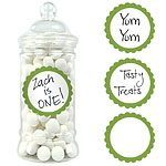 Buy Kiwi Lime Green Sweet Jar Labels