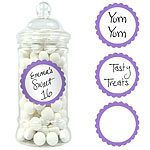 Buy Purple Sweet Jar Labels