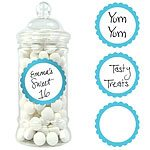 Buy Robins Egg Blue Sweet Jar Labels