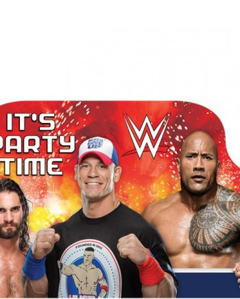 WWE Wrestling Party Invitation Cards