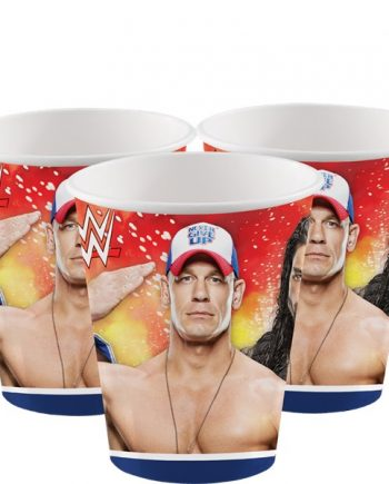 WWE Wrestling Party Paper Cups