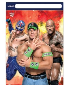 WWE Wrestling Party Plastic Loot Bags