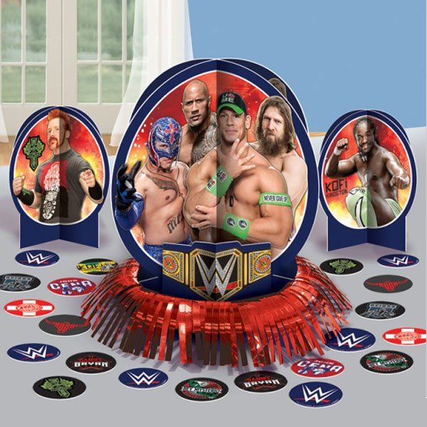 WWE Wrestling Party Table Decorating Kit