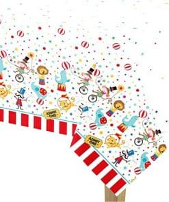 Circus Carnival Party Tablecover