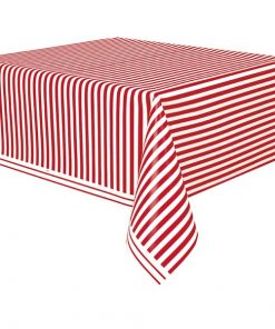 Circus Time Party Plastic Tablecover