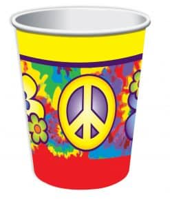 Hippie Party Paper Cups