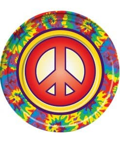 Hippie Party Plate