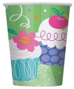 Cupcake Party Paper Cups