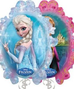 Disney Frozen Anna & Elsa Themed Foil Balloon
