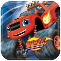 Buy Cheap Monster Truck Blaze Party Decorations here in the uk