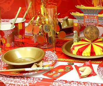 Cheap Chinese New Year Party Decorations, Fortune Cookies & Novelties
