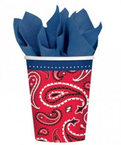 Wild West Party Paper Cups