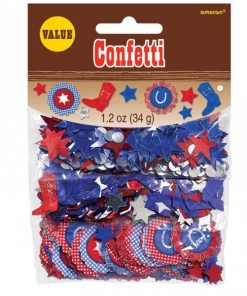 Wild West Party Confetti
