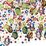 Avengers Party Table Confetti