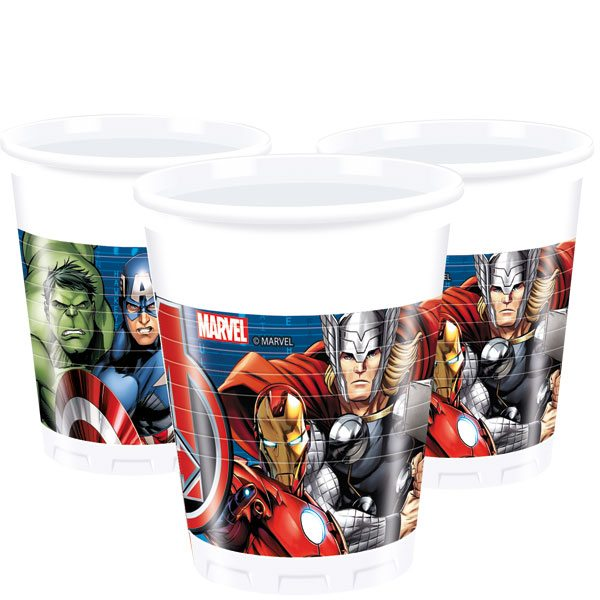 Avengers Party Plastic Cups