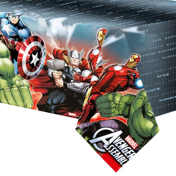 Avengers Party Plastic Tablecover