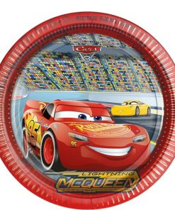 Disney Cars 3 Party Paper Plates