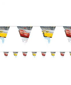 Disney Cars 3 Party Plastic Bunting