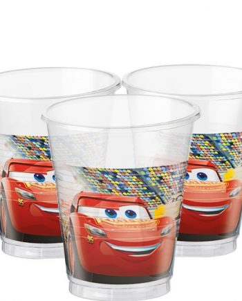 Disney Cars 3 Party Plastic Cups