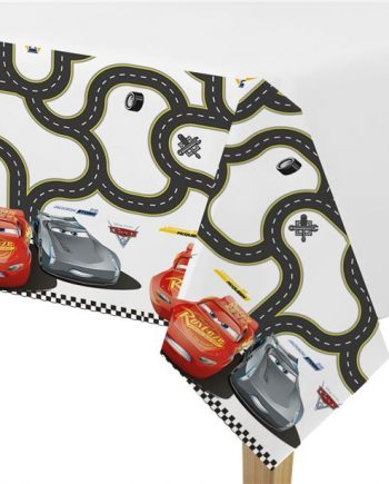 Disney Cars 3 Party Plastic Tablecover