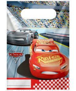 Disney Cars 3 Party Plastic Loot Bags