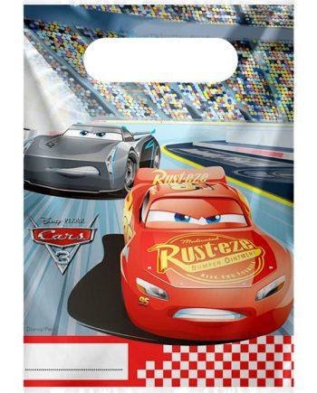 Disney Cars 3 Party Plastic Loot Bags