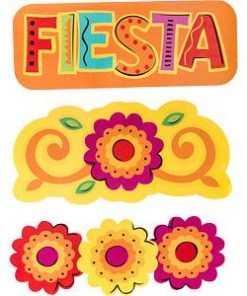 Mexican Fiesta Party Mega Value Cutout Decorations