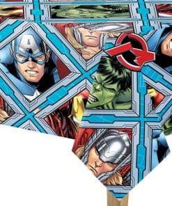 Mighty Avengers Party Plastic Tablecover
