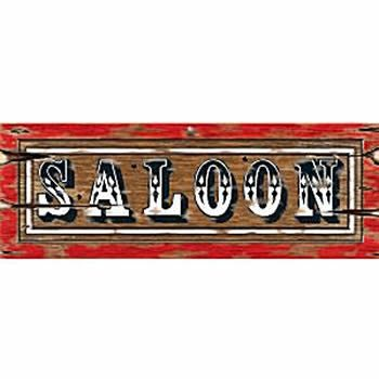 Wild West Party Saloon Sign