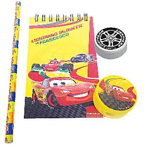 Disney Cars Stationery Set