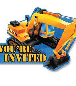Under Construction Invitations