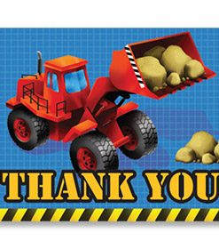 Under Construction Thank You Cards