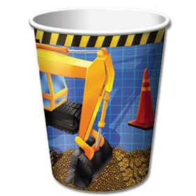 Under Construction Party Cups