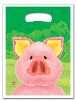 Pig Themed Party Bags