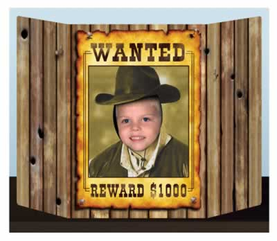 Wanted Poster Prop