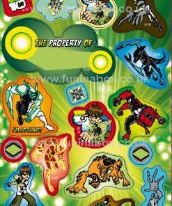 Ben 10 Sticker Sheet