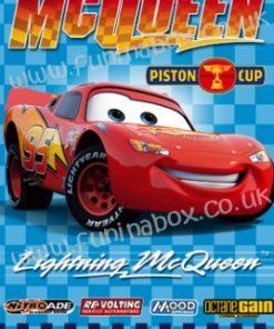 Lightning MCQueen Birthday Card
