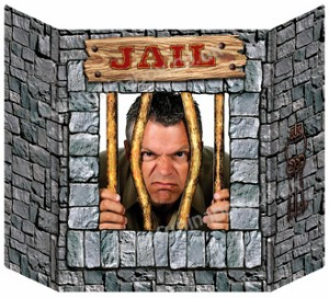 Jail Photo Prop by Fun Party Supplies