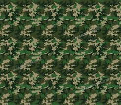 Army Camo themed back drop