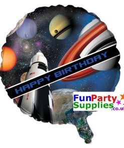 Space Blast Party Balloon 18""