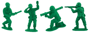 Green Army Solider Toys