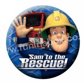 Fireman Sam badges