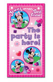 Minnie Mouse Pink Door Banner