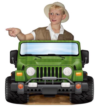 Jeep Safari photo prop