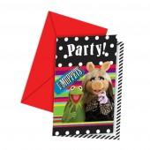 Muppets invitations