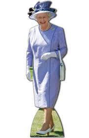 Queen Lifesize Cardboard Cutout