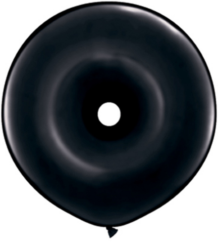 Black Tyre Shaped latex Balloon, for helium or air