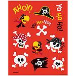 Pirate Fun sticker sheets