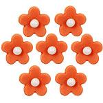 Cake Decorations - Sugar Toppers - Orange Blossom (7pk)